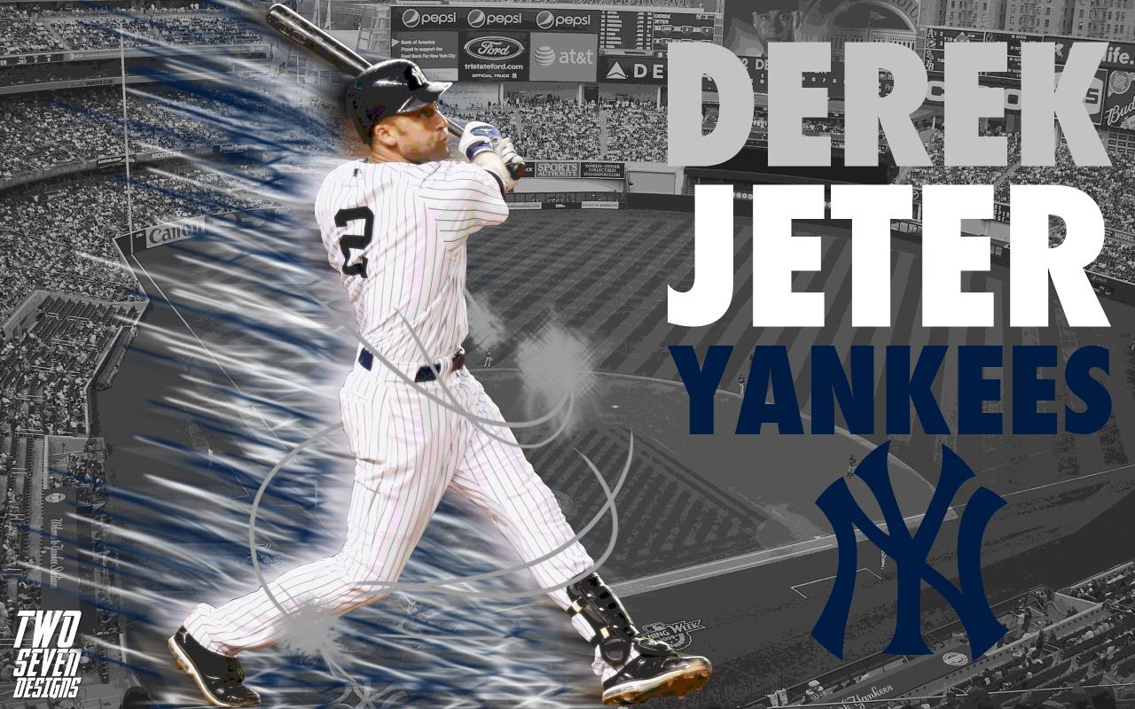 Baseball wallpapers two seven designs - Derek jeter wallpaper ...