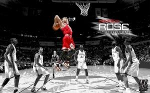 Basketball wallpapers two seven designs - Derrick rose iphone wallpaper ...
