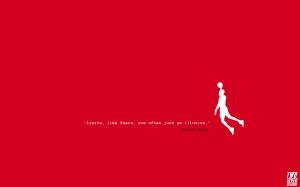 Michael Jordan Minimalism Wallpaper