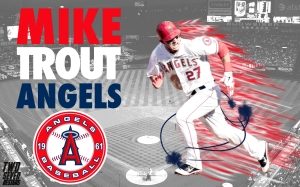 Mike Trout Wallpaper 1280x800