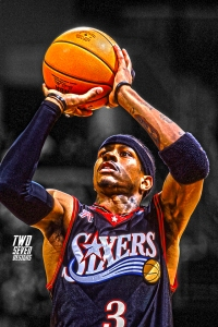 Allen Iverson iPhone Wallpaper