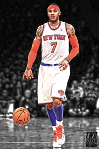 Carmelo Anthony iPhone Wallpaper