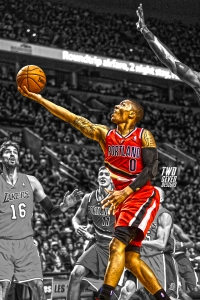Damian Lillard iPhone Wallpaper