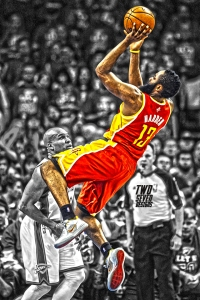 James Harden iPhone Wallpaper