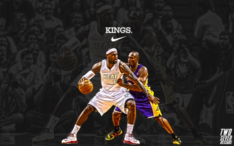 Lebron James Kobe Bryant Wallpaper