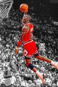 Michael Jordan 2 iPhone Wallpaper