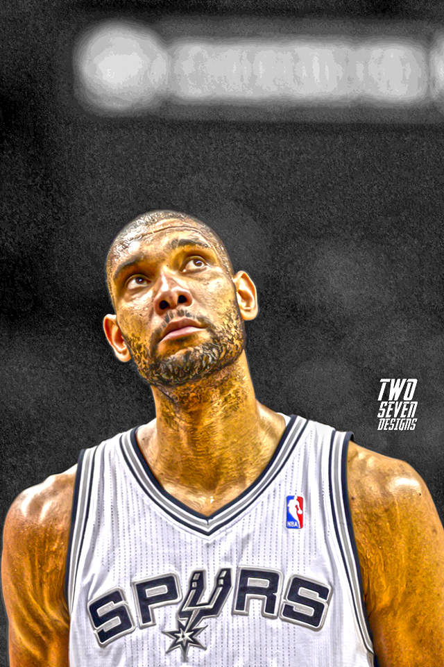 New nba smartphone wallpapers two seven designs - Tim duncan iphone wallpaper ...