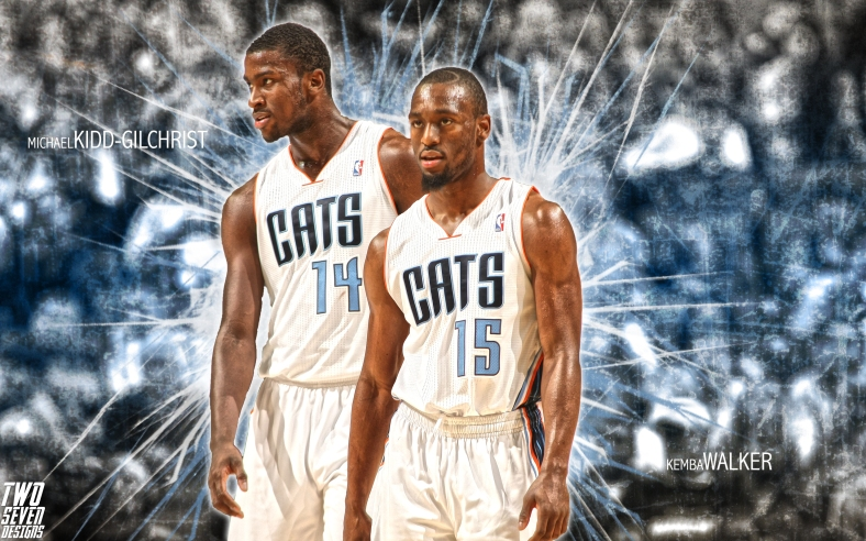 Kemba Walker Michael Kidd Gilchrist Wallpaper