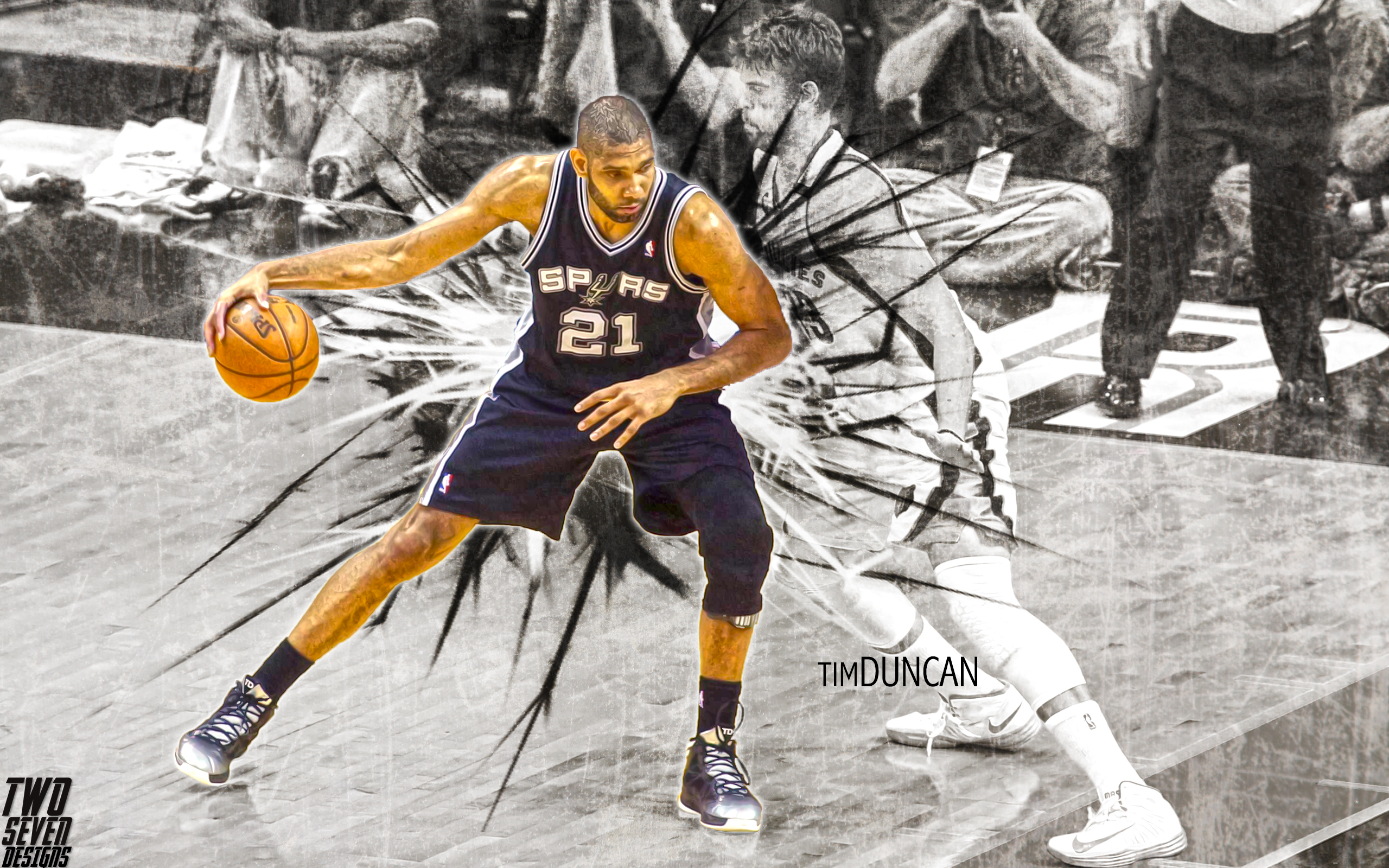 2014 nba wallpapers two seven designs - Tim duncan iphone wallpaper ...