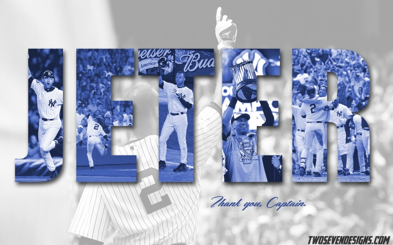 Derek Jeter 2014 Final Season Wallpaper