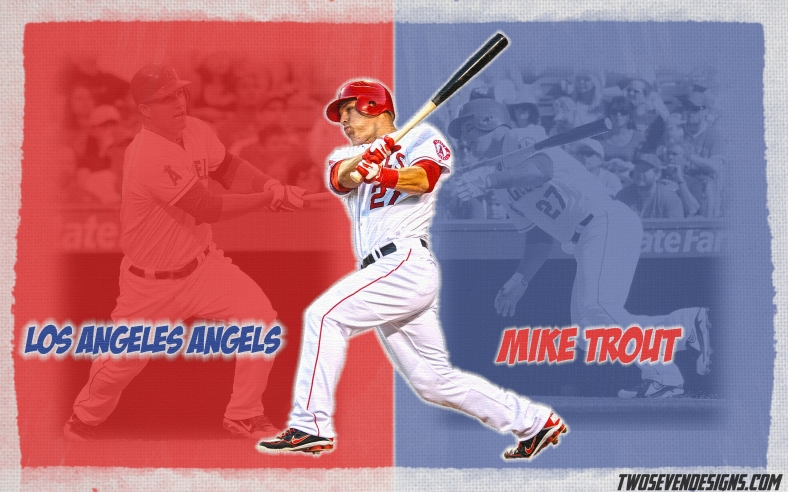 New Mike Trout And Clayton Kershaw Wallpapers Two Seven