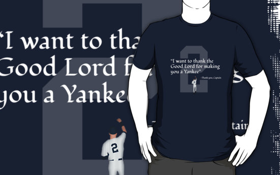 Derek Jeter Final Season T Shirt